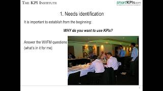 Download Selecting Key Performance Indicators by Aurel Brudan CEO KPI Institute | MILE Webinar Video
