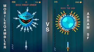 Download Knife Hit VS! Who will win? (Me vs Mobile Gambler) Video