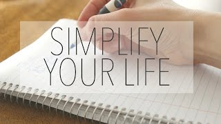 Download How To Simplify Your Life & Live Minimally Video