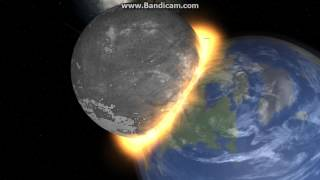 Download Universe Sandbox 2 - Theia Collision w/ Earth Video