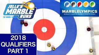 Download Winter MarbleLympics 2018 Qualifiers: E1 Curling Video