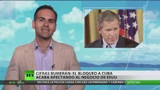 Download Cifras bumerán: el bloqueo a Cuba acaba afectando al negocio de EE.UU. Video