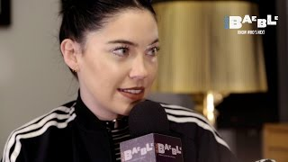 Download Pop goth godess Bishop Briggs talks music and fashion with us. Video