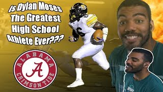 Download This Kid Has Had Offers From Alabama and LSU Since 8th Grade!!!! Dylan Moses Highlights [Reaction] Video