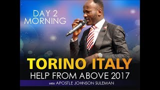 Download Help From Above Torino Italy Day 2 Morning With Apostle Johnson Suleman Video