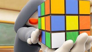 Download Funny Animated Cartoon | Spookiz | The Rubik's Cube Challenge | 스푸키즈 | Cartoon For Children Video