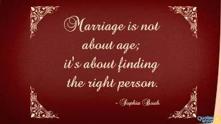 Download 14 Best Marriage Quotes Video