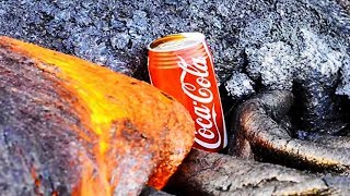 Download Coke Can on HOT LAVA Test Video