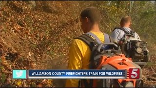 Download Middle Tennessee Firefighters Train To Fight Wildfires Video