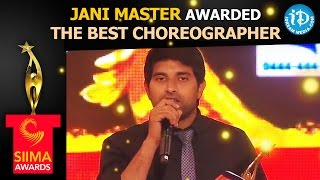 Download SIIMA Awards - Jani Master Awarded The Best Choreographer - Chiranjeevi || Ram Charan Video