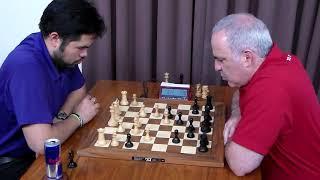 Download Hikaru Nakamura vs Garry Kasparov - St Louis Blitz 2017 Video