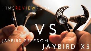 Download Jaybird X3 VS Jaybird Freedom - COMPARISON Video