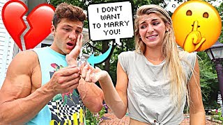 Download Telling My Boyfriend ″I DON'T WANT TO MARRY YOU″ To See How He Reacts Video