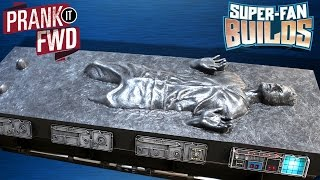 Download Han Solo in Carbonite - Star Wars Coffin Coffee Table – SUPER FAN BUILDS - Prank It FWD Video