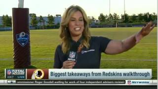 Download NFL Total Access | Impressions of WR Terrelle Pryor at Redskins training camp Video