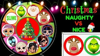 Download Christmas Naughty Or Nice Spinning Wheel Game 2018 New Toy Surprises Video