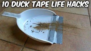 Download 10 Duck Tape Life Hacks Video