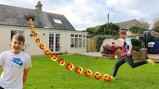 Download YOU WON'T BELIEVE THIS FOOTBALL CHALLENGE Video
