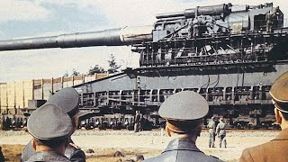 Download World's BIGGEST / MOST POWERFUL GUN ever built (and used in combat)! (Heavy Gustav Railway Gun.) Video