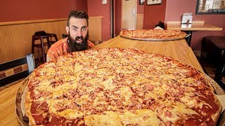 Download The Biggest Pizza Challenge I've Ever Seen | Trip To Buffalo Pt.2 Video