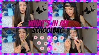 Download WHAT'S IN MY SCHOOLBAG | Elisa Maino Video