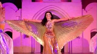 Download Bellydance with Isis wings Amira Abdi with Ishtar dance ensemble Video