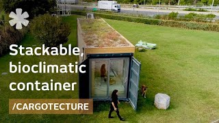 Download On designing a stackable, bioclimatic shipping container home Video