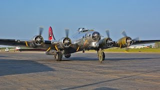 Download Boeing B-17 Flying Fortress flight with cockpit view and ATC Video