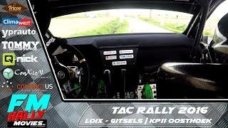 Download TAC rally 2016 | ONBOARD | Loix - KP11 Oosthoek (Skoda Fabia R5) [HD] Video