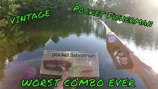 Download Using the WORST fishing combo EVER | Pocket Fisherman (VINTAGE) | B Fishing Video