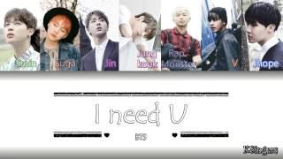 Download BTS - I Need U | Sub (Han - Rom - Español) Color Coded Letra Video