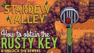 Download Where to get the Rusty Key & Unlock the Sewers, Stardew Valley Video