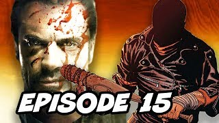 Download Walking Dead Season 7 Episode 15 All Out War TOP 10 WTF and Comics Easter Eggs Video