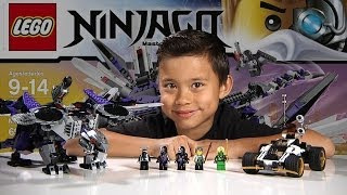 Download NINDROID MECHDRAGON - LEGO NINJAGO 2014 Set 70725 - Time-lapse Build, Unboxing & Review! Video