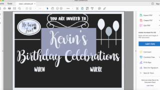 Download How to create an Editable PDF file using Adobe Acrobat Pro Video