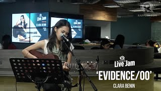 Download Rappler Live Jam: Clara Benin - 'Evidence/Oo' Video