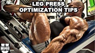 Download Leg Press Optimization for Maximal Muscle Stimulation   MI40 University - Ben Pakulski Video