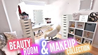 Download HUGE Beauty Room Tour + $10,000 Makeup Collection Video
