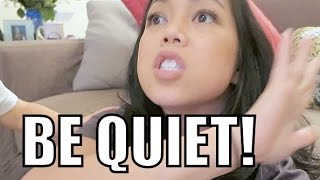 Download JUST BE QUIET! - February 22, 2016 - ItsJudysLife Vlogs Video