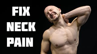 Download Fix Neck Pain Fast   Stiff Neck Stretches & Exercises Video