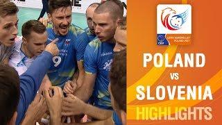 Download Highlights   Poland vs Slovenia   LOTTO EUROVOLLEY POLAND 2017 Video