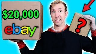 Download $10 VS $20,000 EBAY MYSTERY BOX Challenge Unboxing Haul! (Penny worth more than Bitcoin?!) Video