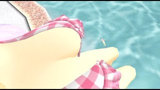 Download [MMD Vore] Yagyuu's pool day Video