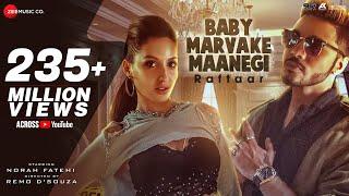 Download Baby Marvake Maanegi - Raftaar   Nora Fatehi   Remo D'souza   India's first DANCEHALL Song Video