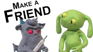 Download Clay Animation: Make a Friend Video