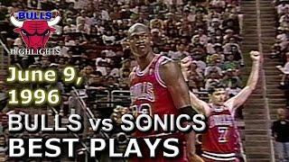 Download June 09 1996 Bulls vs Sonics game 3 highlights Video