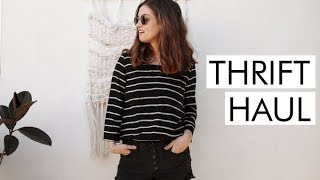 Download Try-On Thrift Haul from THRED UP | Alli Cherry Video