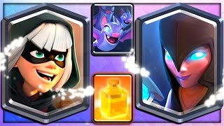 Download BANDIT, NIGHT WITCH, BATS & HEAL - 4 NEW CLASH ROYALE CARDS! Video