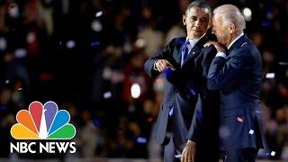Download Barack Obama And Joe' Biden's Unforgettable Bromance | NBC News Video