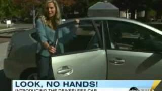 Download ABC News gets taken for a spin in Google's self-driving Toyota Prius Video